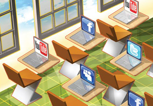 social media and the classroom Social media is a big part of our students' lives they're always checking facebook updates or tweeting to each other inside and outside the classroom so the big.
