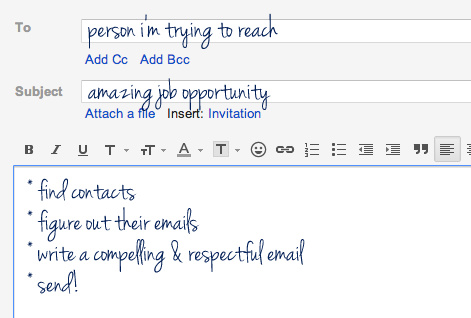 how to cold email