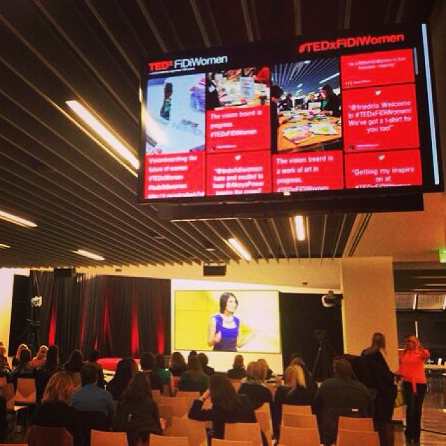 TEDx social display powered by Tint